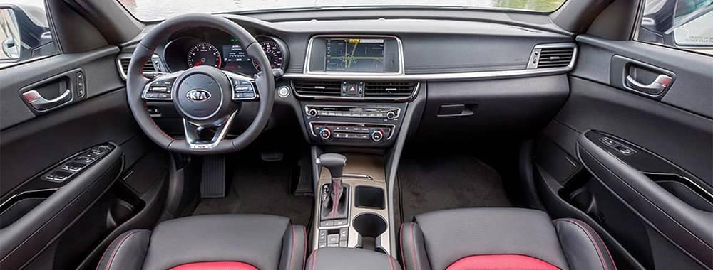 2020 Kia Optima Interior Front Dashboard View