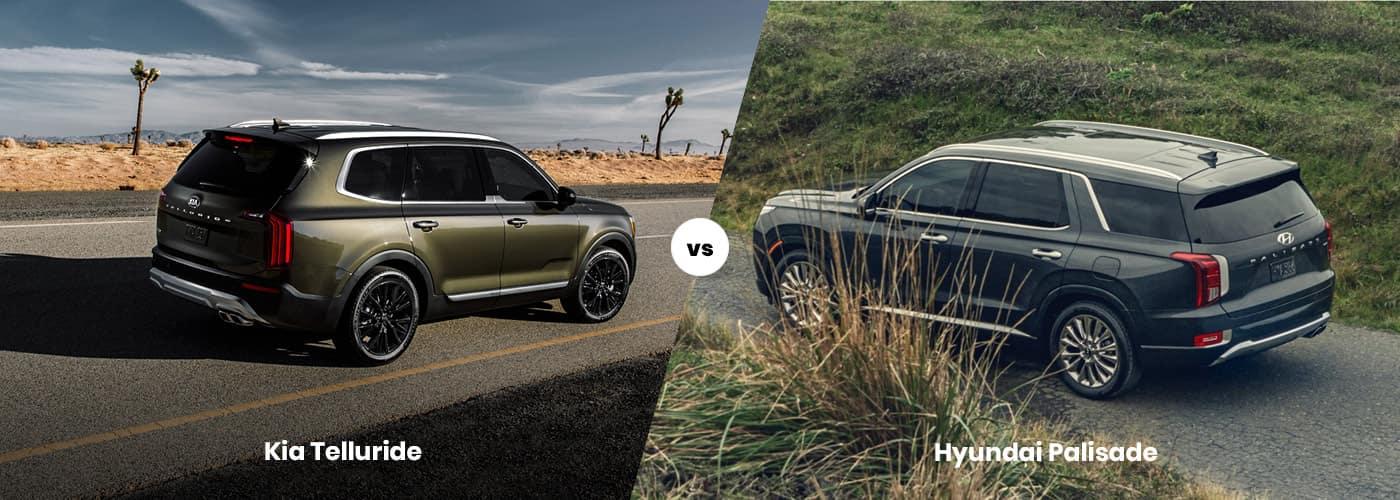 Kia Telluride vs. Hyundai Palisade