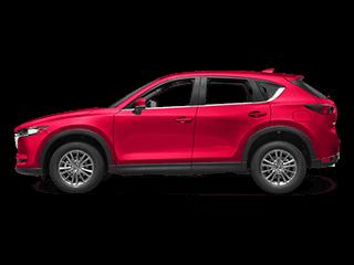 2017 Red CX-5 Exterior
