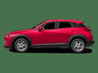 2018 Red Mazda CX3 Exterior