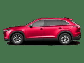 2018 Red Mazda CX9 Exterior