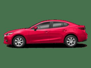 2018 Red Mazda3 4-Door Exterior