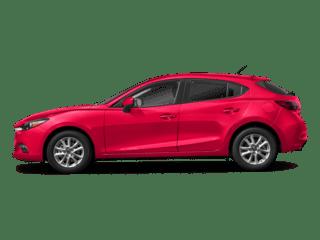 2018 Red Mazda3 5-Door Exterior