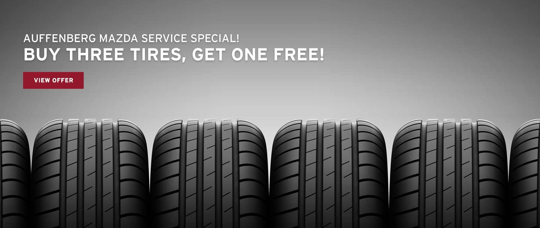 Auffenberg Mazda Tire Special
