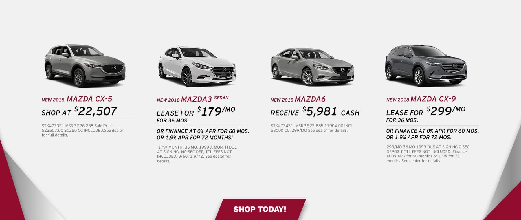 Auffenberg Mazda Model Series