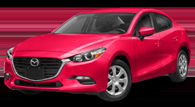 2018 Mazda3 Red