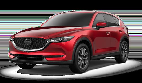 Red 2018 Mazda CX-5