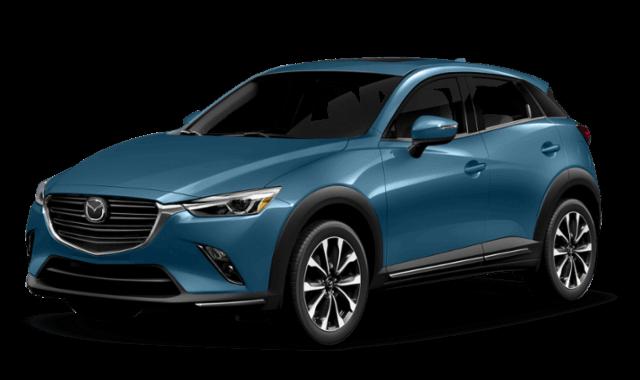 Blue 2019 Mazda CX-3