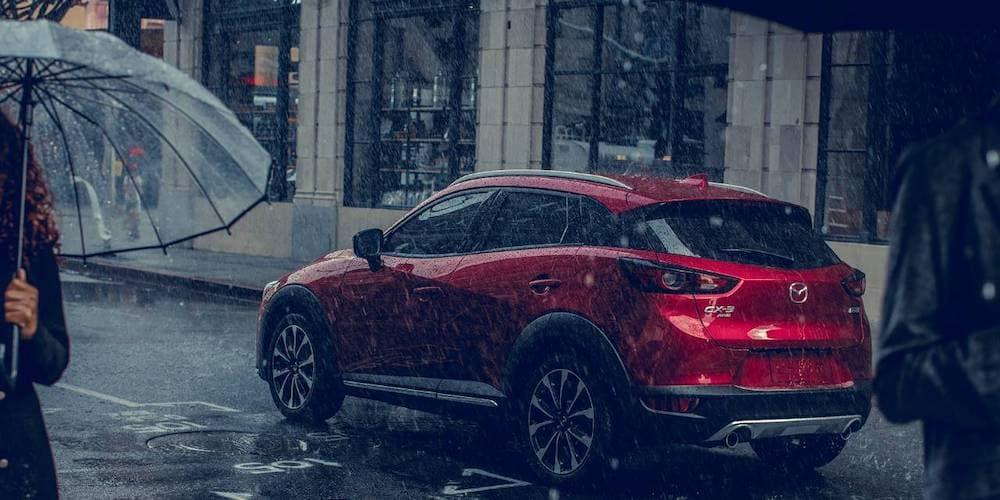 2019 Mazda CX-3 in Rain