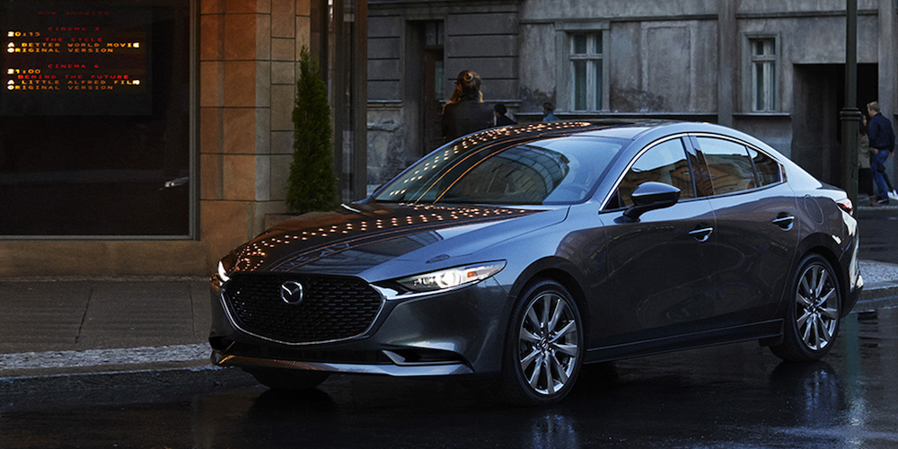 2019 Mazda3 on Street