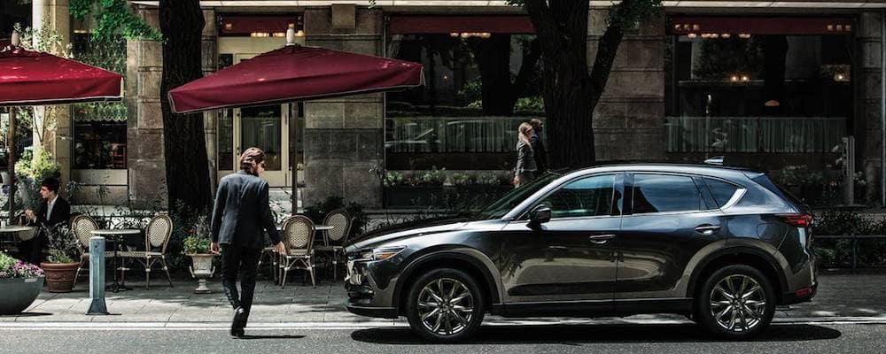 2020 Mazda CX-5 Parked Along City Street