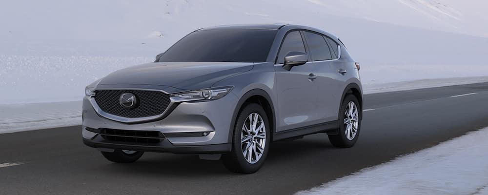 2020 Mazda CX-5 in Snow