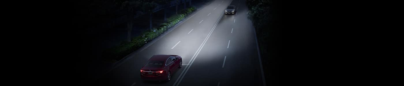 Two Vehicles Approaching from Opposite Sides on the Highway