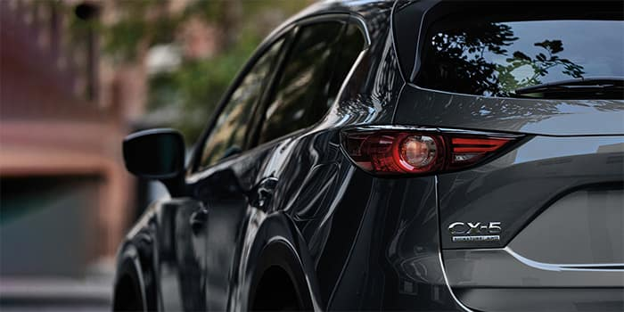 Close up of Mazda CX-5 Rear