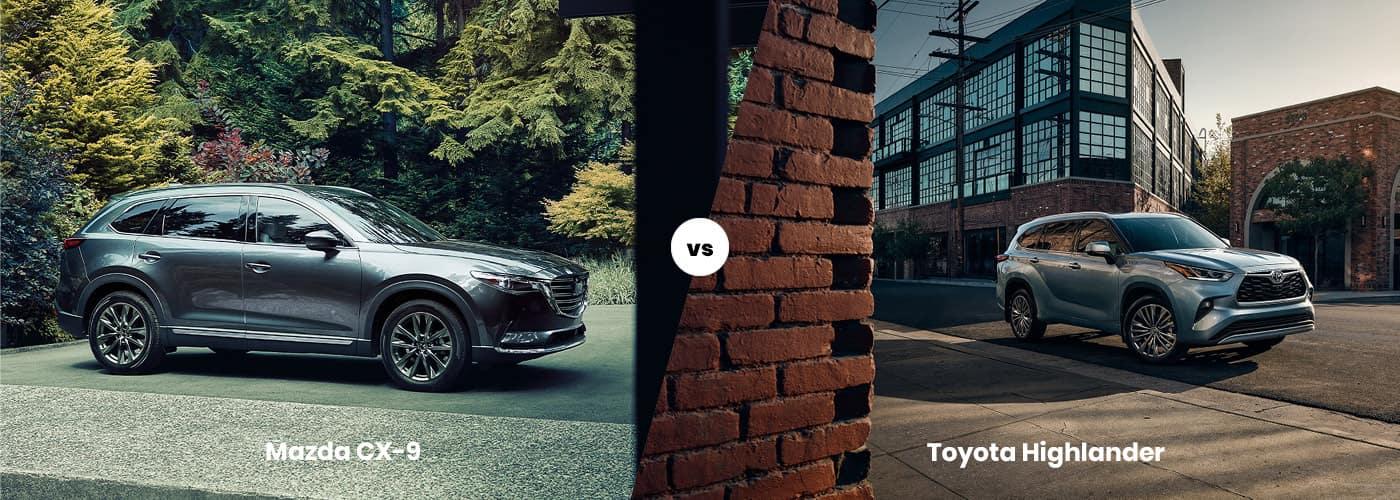 Mazda CX-9 vs. Toyota Highlander