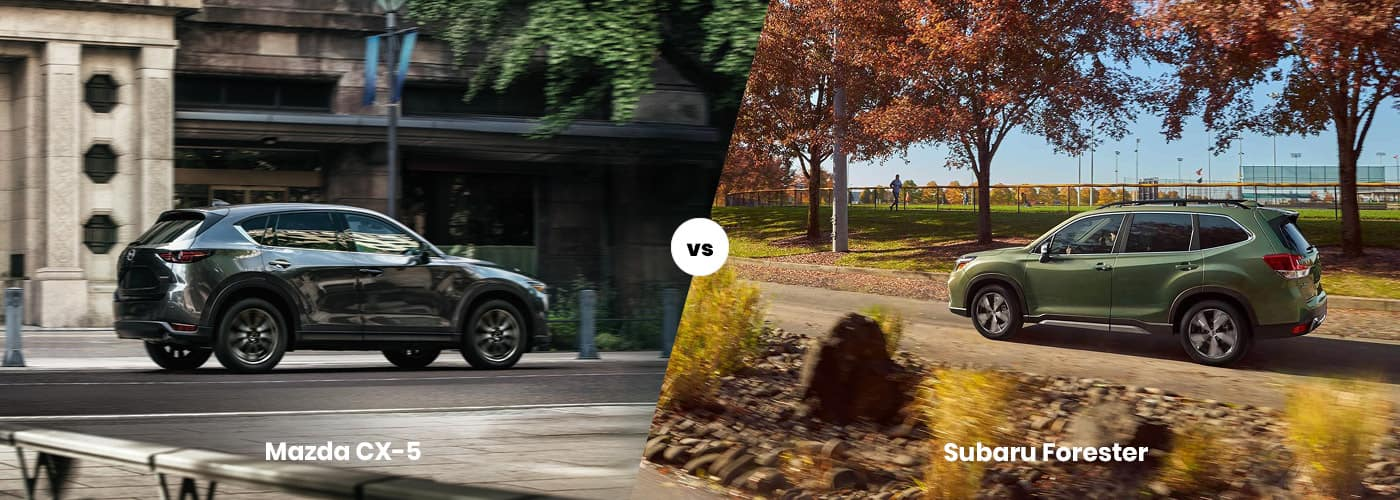 Mazda CX-5 vs. Subaru Forester