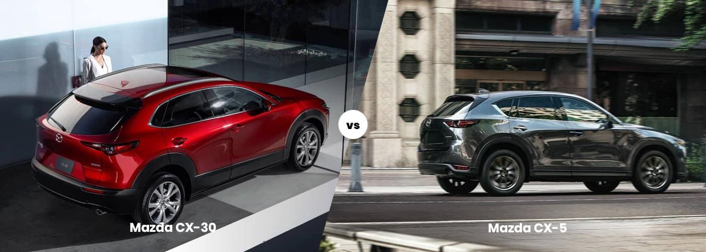 Mazda CX-30 vs. Mazda CX-5