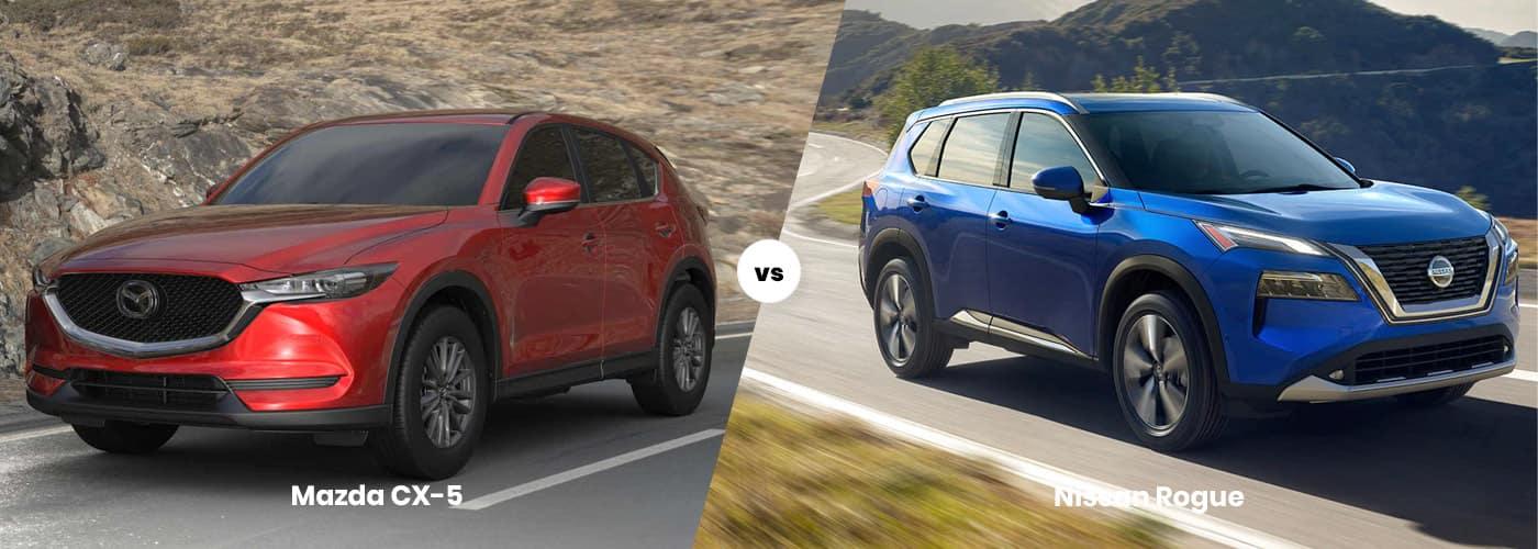 Mazda CX-5 vs. Nissan Rogue