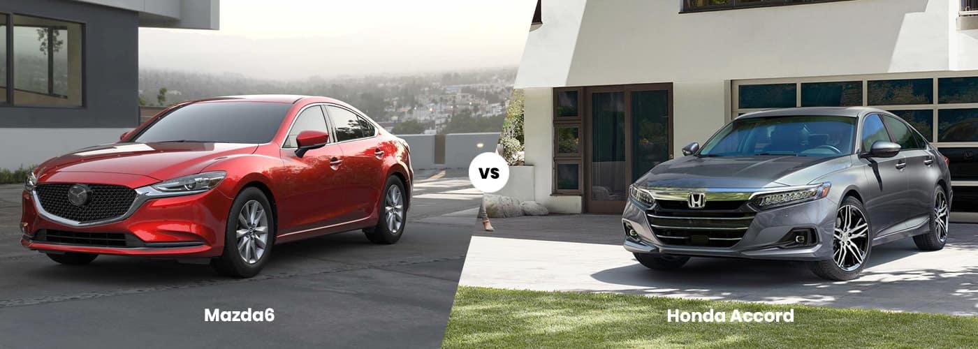 Mazda6 vs Honda Accord