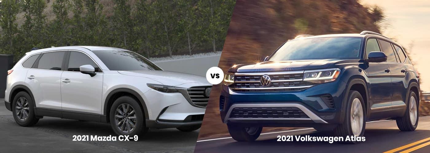 Mazda CX-9 vs. Volkswagen Atlas