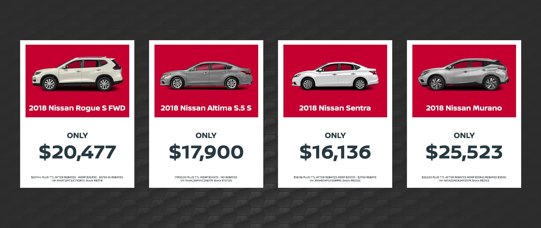Auffenberg Nissan Cash Offers