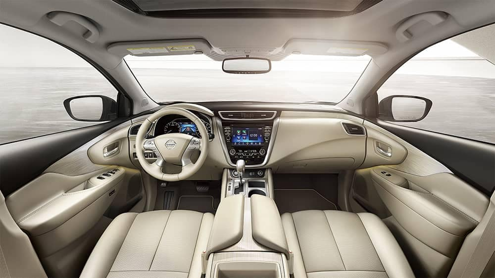 2018 Nissan Murano Dash