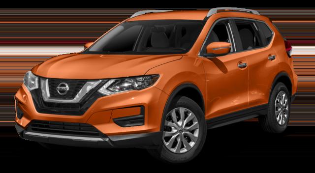 2018 Nissan Rogue Orange