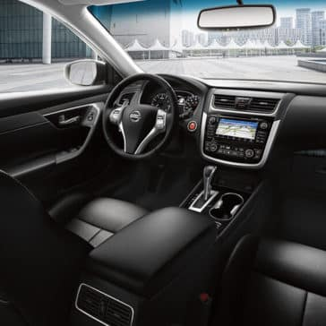 2018 Nissan Altima Cabin