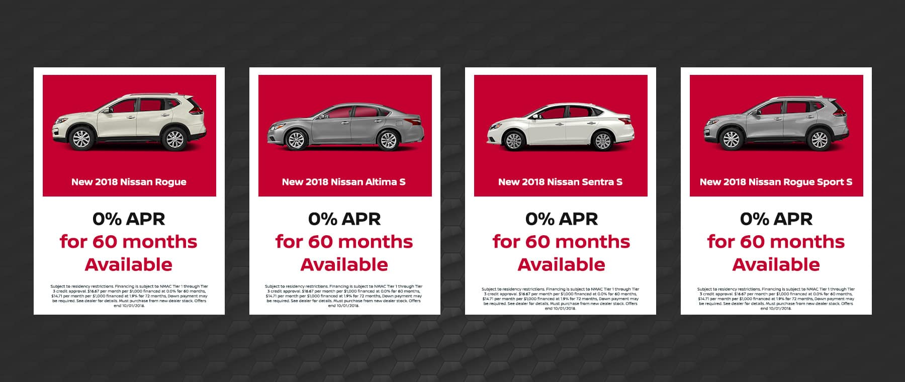 Nissan September Offers