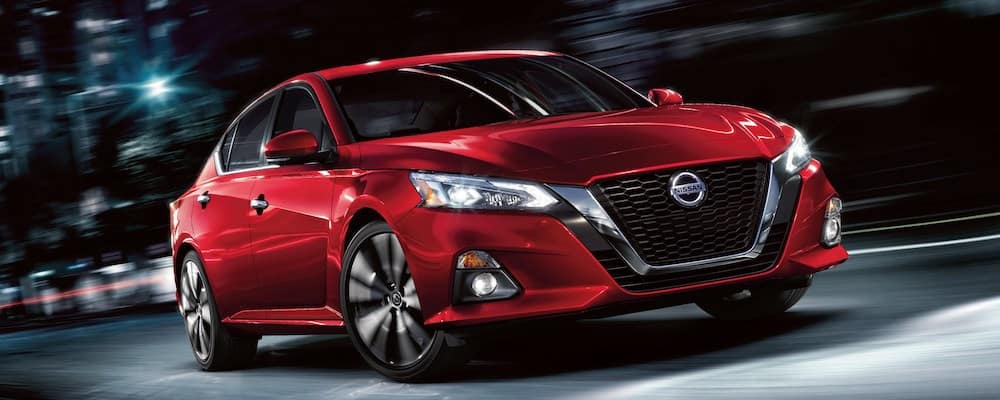 2019 Nissan Altima red exterior