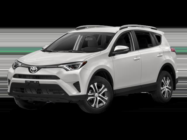 White 2018 Toyota RAV4