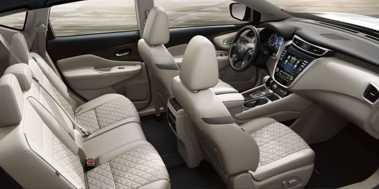 2019-Nissan-Murano-interior-seating