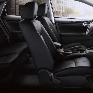 2019 Nissan Sentra interior side view