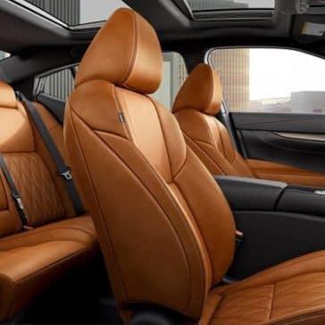 2019 Nissan Maxima Seating