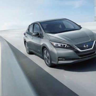 2019 Nissan Leaf Driving