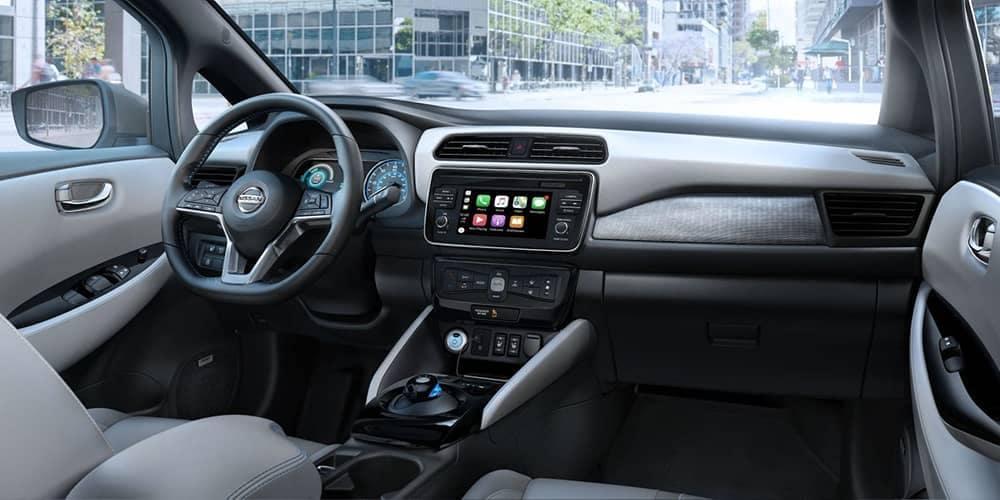 2019 Nissan Leaf Dash
