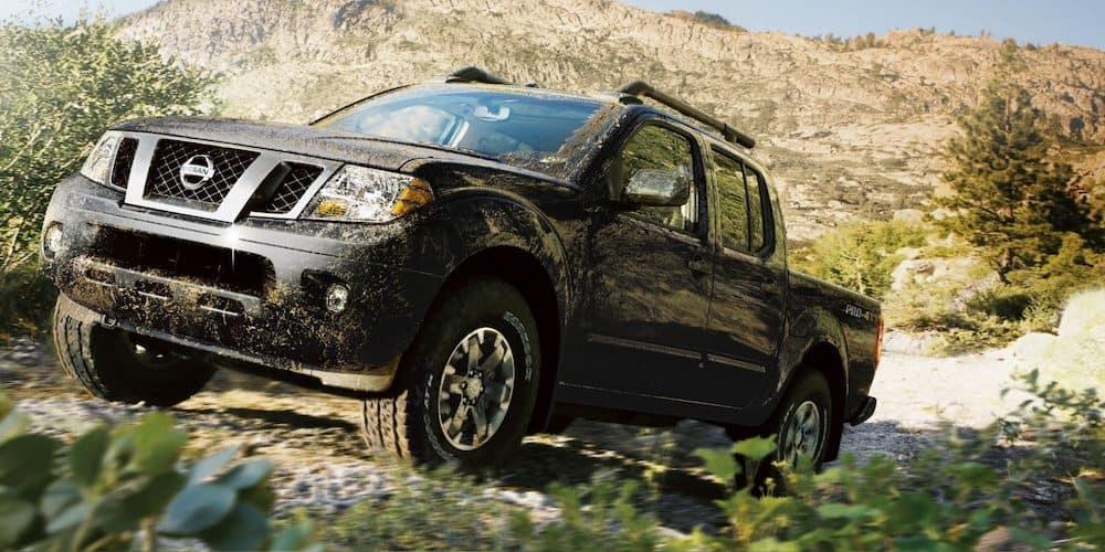 2019 Nissan Frontier in Mud