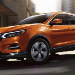 Orange 2020 Nissan Rogue Sport