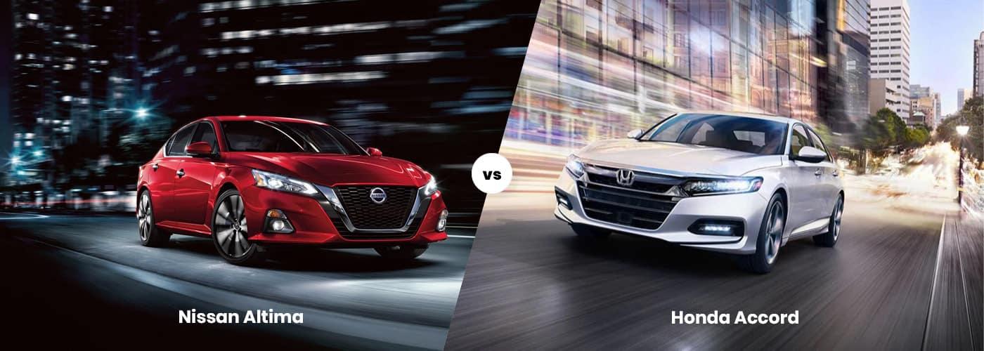 Nissan Altima vs. Honda Accord
