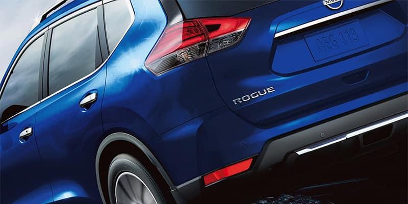Closeup of Nissan Rogue