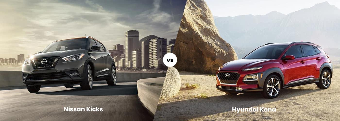 2020 Nissan Kicks vs Hyundai Kona