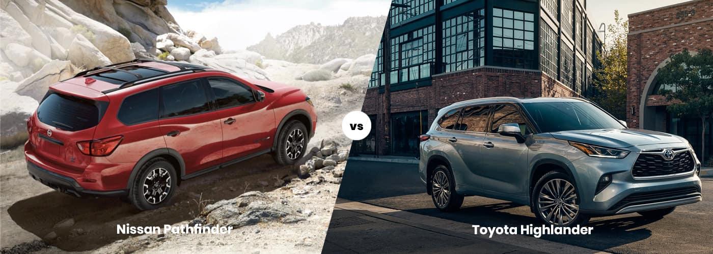 Nissan Pathfinder vs. Toyota Highlander