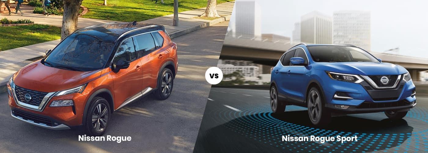 Nissan Rogue vs Rogue Sport