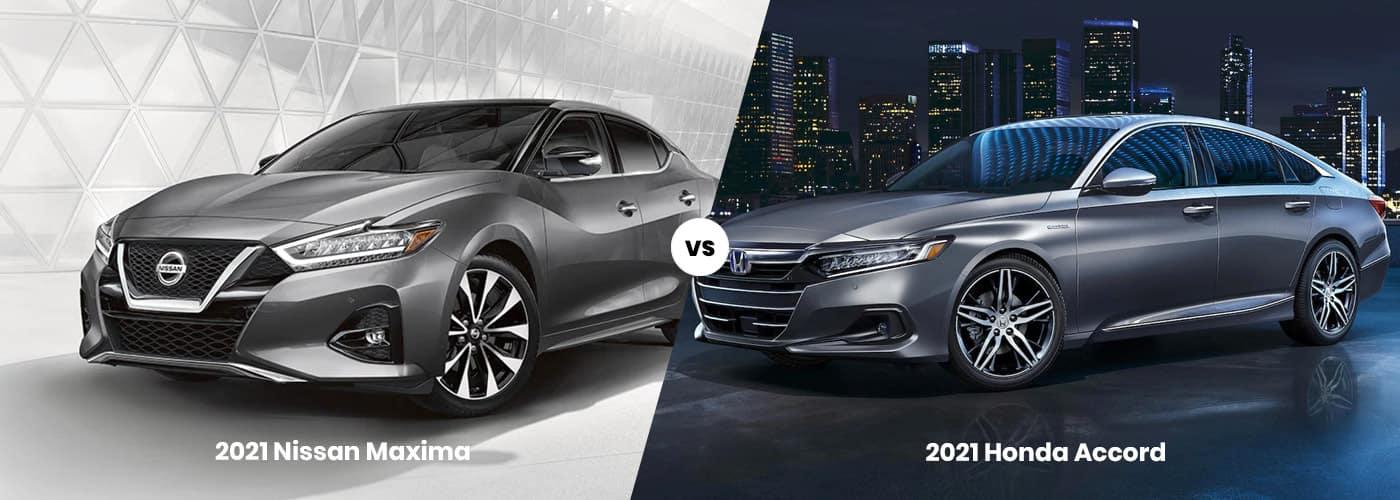 Nissan Maxima vs. Honda Accord