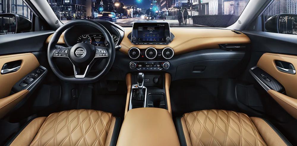 2021 kia sentra leather interior