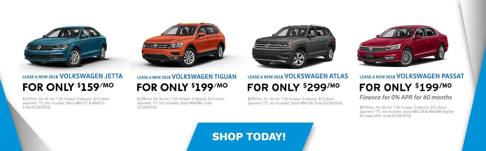 Auffenberg VW February Offers