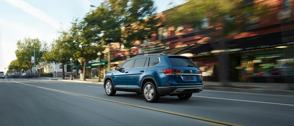 2018 Volkswagen Atlas Driving