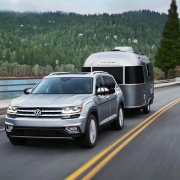 2018 Volkswagen Atlas With Trailer
