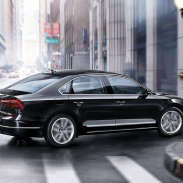 2018 Volkswagen Passat In City