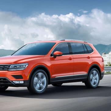 2018 Volkswagen Tiguan Driving